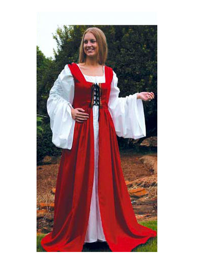 Customize Your Fair Maiden's Dress [Red]